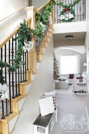 home stairs decoration beautiful interior homes make christmas garland stairs