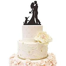 cat wedding cake toppers buythrow wedding cake topper with cat and groom