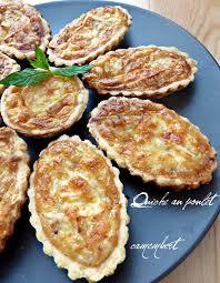 recette de cuisine quiche au poulet quiche poulet et camembert