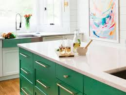 green kitchen cabinets 15 kitchens with bright green cabinets kitchn
