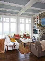 Best  Painted Ceiling Beams Ideas On Pinterest Painted Beams - Living room ceiling colors