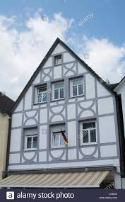 medieval tudor houses architecture stock photos medieval tudor cute bavarian tudor style houses germany stock image