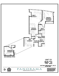 panorama floor plans 2 bedroom 2 bath panorama towers las vegas