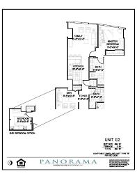 The Panorama Floor Plan by Panorama Floor Plans 2 Bedroom 2 Bath Panorama Towers Las Vegas
