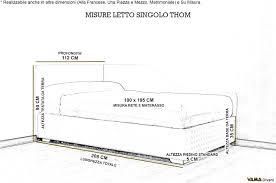 materasso standard misure standard letto matrimoniale moderno