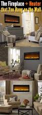 Electric Wall Mounted Fireplace Wall Mount Electric Fireplace Or Recessed