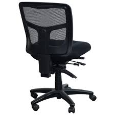 White Armless Office Chair Office Star Products Proline Ii Used Armless Mesh Back Task Chair