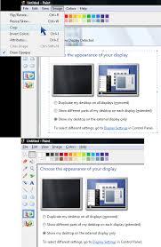 how to edit u0026 enhance screenshots in ms paint mohan u0027s blog