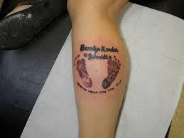 baby tattoos for 30 splendid footprint tattoos slodive