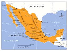 map of mexico yucatan region map of mexico yucatan region major tourist attractions