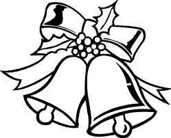 coloring pages christmas bells coloring
