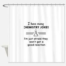 Shower Curtain Chemistry Curtain Joke Decorate The House With Beautiful Curtains