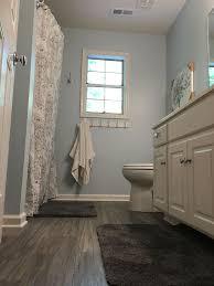is vinyl flooring for a bathroom my finished bathroom traffic master plus 5 vinyl