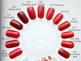different shades of red chanel 581 cinema fifty shades of red color me loud bloglovin