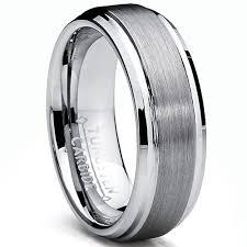 alliance pour homme ultimate metals co 7mm bague alliance tungstene pour homme