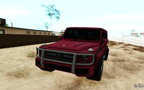 mercedes jeep gold mercedes benz for gta san andreas