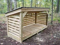 cool shed nice firewood storage solutions cool ideas 6236