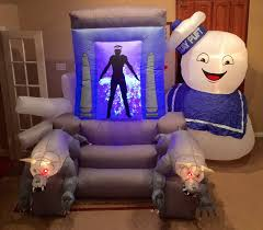 halloween inflatable image gemmy prototype halloween ghost busters inflatable