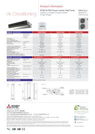 mitsubishi electric ac remote pead m100 140ja r32 power inverter three phase product information