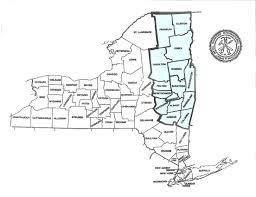 New York Counties Map Map Of Upstate New York Counties World Maps