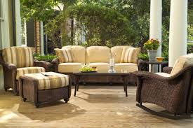 wicker porch furniture style u2013 outdoor decorations
