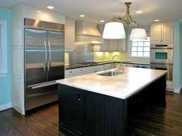 Small Kitchen With Island Design Awesome Small Kitchen Island With Sink My Home Design Journey