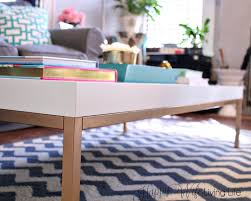Ikea Hack Coffee Table Diy Ikea Hack Coffee Table Key Living Room Project