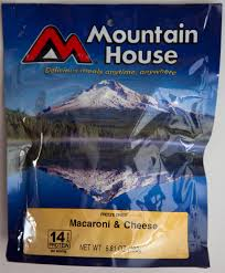 Mountain House Food Outdoor World Sporting Goods Macaroni And Cheese Dehydrated Food