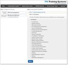 industrial training needs analysis u2013 tpc training