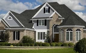 Gray Siding White Trim Black 17 photos and inspiration shingle homes home design ideas
