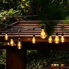 Patio String Light Outdoor String Lights You Ll Wayfair