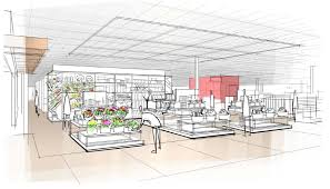 target reveals design elements of next generation of stores a rendering of the store entrance