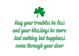 st patrick u0027s day quote free printable somewhat simple