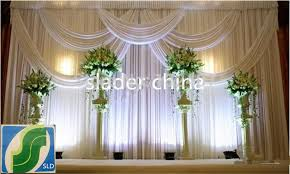 wedding backdrop curtains aliexpress buy wedding backdrop silk fabric curtain for