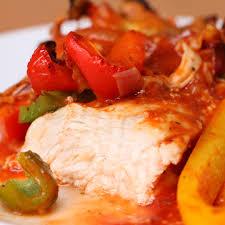 chicken fajita bake proper tasty pinterest food recipes and