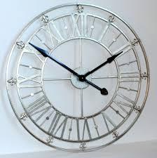 beautiful clocks absolutely smart large mirrored wall clock clocks mirror with