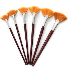 fan brush oil painting oil painting fan art brushes ebay