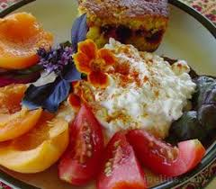Cottage Cheese Recepies by Cottage Cheese Plate Recipe Recipetips Com