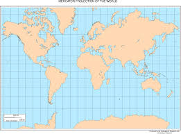 World Map Equator by Maps Of The World