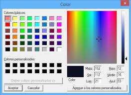 cómo usar color picker dentro de sublime text