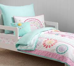 madras toddler quilted bedding pottery barn kids liam sports