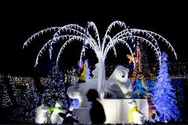 commercial outdoor decorations display lights