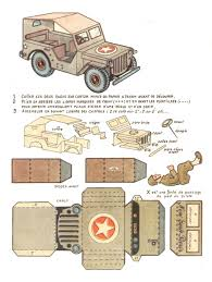 jeep model history another piece of history old jeep papercraft papercruiser com