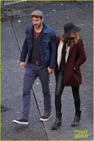 blake lively u0026 ryan reynolds hold hands u0026 make the most adorable