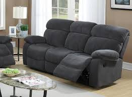 Fabric Reclining Sofa Grey Fabric Reclining Sofa A Sofa Furniture Outlet Los