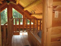 chalet style log cabin twin mountain white mountains new