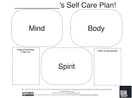 Counselor Self Care Tips Social Work Tech A Self Care Plan On Psychology