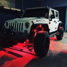 jeep wrangler rock lights oval rock lights stingray industries led llc