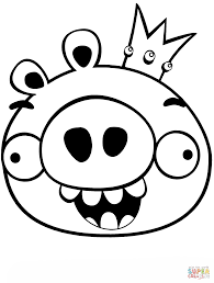 oval coloring page king smoothcheeks coloring page free printable coloring pages