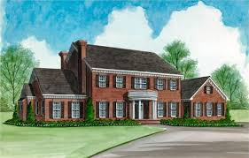 colonial home plans 4 bedroom 4 bath colonial house plan alp 08sx allplans com